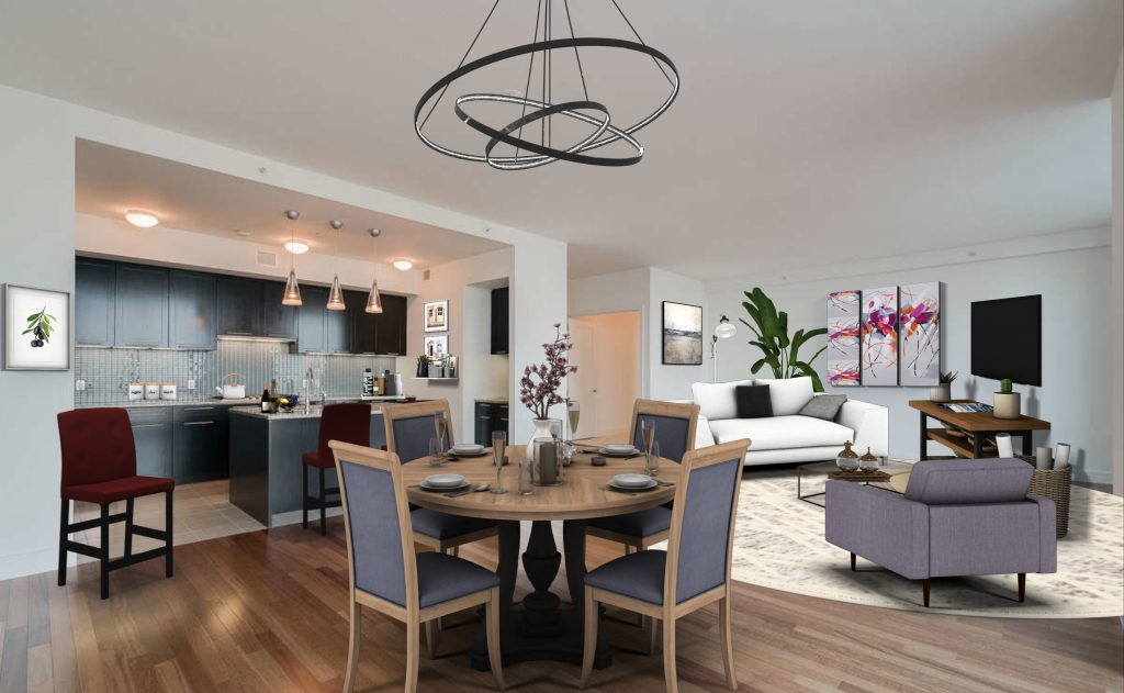 Contemporary Living-Dining